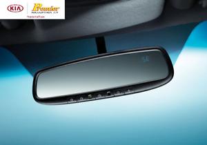 2014-2015 KIA Sorento Auto Dimming Mirror w/ Compass & Homelink  1U062 ADU00