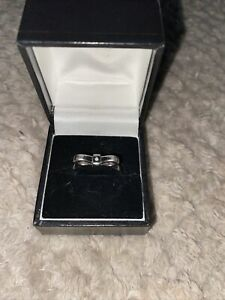 Hot Diamond Ring Sterling Silver Size P New Rrp £55