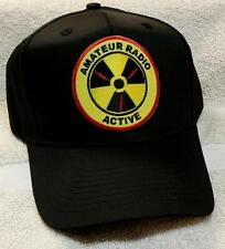 Amateur Radio Active Hat with full Color patch