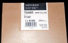 Original EPSON INK Stylus Pro 10600 / T5491 Photo BLACK 500ml INK Cartridge