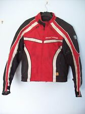 Jacket Frank Thomas Aqua Pore Advanced Motorcycle Jacket Red White Black Medium
