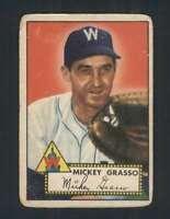 1952 Topps #90 Mickey Grasso GVG Senators 108513