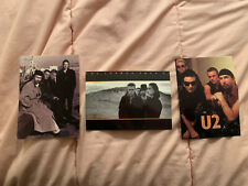 U2 assorted postcards from Joshua Tree and Achtung Baby eras