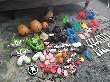 MR POTATO HEAD toy Bundle 4 POTATOES & SELECTION OF ACCESSORIES