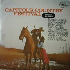 CAPITOL'S COUNTRY FESTIVAL - 2 LP