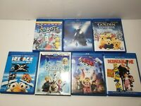 Blu Ray lot kids movies - Disney Frozen, Despicable Me, Lego Movie and more C28
