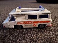 Vintage Corgi Motorway Ambulance Made In Gt Britain Old Tidy Collectable