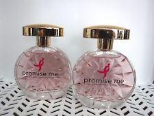 2 Susan G Komen PROMISE ME edt PERFUME Spray 3.4 oz ea WOMEN -  NEW  nb @