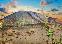 A1 Teide Volcano Poster Art Print 60 x 90cm 180gsm Islands Spain Fun Gift #16503