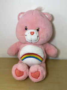 Pink Cheer Rainbow Red Heart Care Bear Collectors Plush Toy