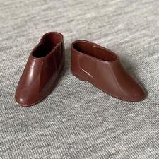 Paul doll shoes - Pedigree Sindy boyfriend brown Chelsea boots boy accessory