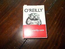 Tarsier Tarsius Promo Playing Cards O'Reilly Publishing Sealed Standard Unix