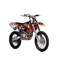 Ktm 450 Rally (rally Dakar) Diseño de Toro rojo modelo motocicleta 1 18 Bburago