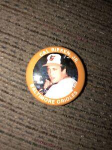 1984 CAL RIPKEN JR BALTIMORE ORIOLES FUN FOOD #118  PINBACK BUTTON HOF MLB STAR