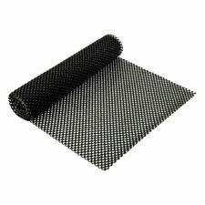 Black Non Slip Mat 120cm x 30cm Roll-Hundreds of Uses Anti Slip Rubber Grip Matt