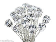 Hair Pins Slides Barrettes Wedding Brides Hairstyles Decorations Silver Needles