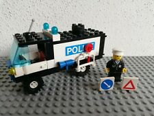 LEGO 6450 Mobile Police Truck Light & Sound Lego City Legoland completo 1986