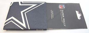 NFL SUPER WALLY BI-FOLD WALLET MADE OF DuPont Tyvek - DALLAS COWBOYS