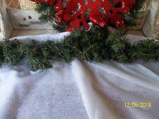 Vintage faux pine garland/Christmas garland/Holiday decor/Wreath supplies