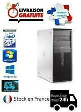 UNITÉ CENTRALE/ORDINATEUR HP 7800 CMT HDD SSD WIFI 4Go/8Go WINDOWS 7/10