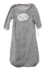 Carter's Baby Girl Fleece Sleep Bag, Grey Cloud, Size M, 6-9 Months