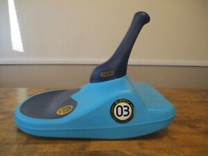 Zipfy Freestyle Mini Luge Snow Sled Blue Compact FAST Lightweight used