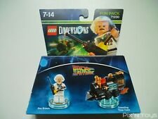 Lego DIMENSIONS Fun Pack 71230 Back to the Future [ NEUF ]