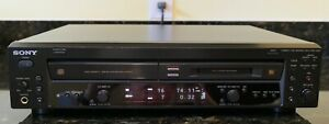 SONY CD Player & MD MiniDisc Recorder Deck Combo Model MXD-D400 VGC & Tested
