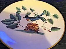 Gorham ~ The Catesby Collection ~ Limited Edition Plate ~ The Bluebird ~ Mint