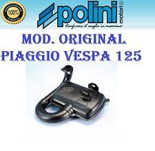 Marmitta Polini Piaggio Vespa PX 125 150 2T Scarico Espansione Original 200.2018