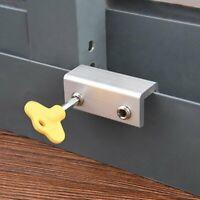 Sliding Door/Window Kids Child Safety Lock Security Slide Stopper Adjustable