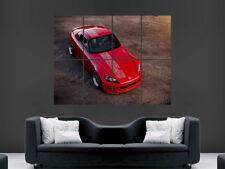 HONDA ROSSO S2000 Auto Poster Art Immagine Enorme Muro di grandi dimensioni