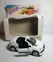 AUTOCRAFT ROAD MONSTER DIECAST PEUGEOT 206 CONVERTIBLE - WHITE - AC250