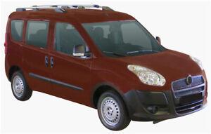 Prorack 2 Bar Roof Rack Kit for Fiat Doblo 5dr Van 2010 on (S47 + )
