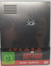 Marvel's Ant-Man Limited Steelbook  ( 2D + 3D ) Blu Ray
