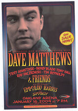 ORIGINAL MINT 2K4 DAVE MATTHEWS BAND SAN FRANCISCO CALIFORNIA CONCERT HANDBILL