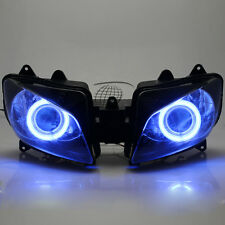Assembly HID Projector Headlight Blue Angel Eye For Yamaha YZF-R1 1998-1999