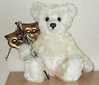 "STEIFF BROADWAY BEAR Mohair EAN 666063 15.39"" (39cm) With Box & Certificate NEW"