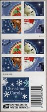 US HOLIDAYS 2017 SCOTT #5247-5250 CHRISTMAS CAROLS 20 MINT VF FOREVER STAMP PANE