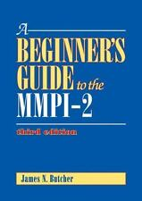 A Beginner's Guide to the MMPI-2 by James Neal Butcher (2011, Hardcover,...