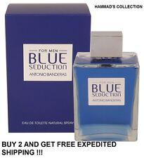 SEDUCTION IN BLUE BY ANTONIO BANDERAS MEN COLOGNE  3.4 OZ EDT SPRAY (NIB) SEALED