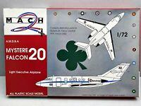 Dü..1:72..MACH--Mystere Falcon 20 Bausatz/ unverbaut /  7 P 254
