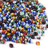 1600pcs/50g 8/0 Opaque Colours Seed Glass Beads Round Tiny Spacer Beads 2.5~3mm