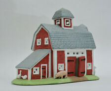 Retired PartyLite P0493 Meadow Brook Farm Tealight Candle Holiday Village