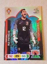 Panini UEFA EURO 2012 Card - Rio Patricio - Portugal - Goal Stopper