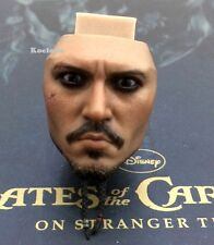 Hot Toys DX06 Pirates of Caribbean Jack Sparrow 1/6 Scale ANGRY Face Head Sculpt