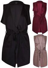 Solid Vest Coats, Jackets & Vests for Women