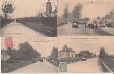 CIRCUIT SARTHE (DEP.72) CAR RACING COURSE DE VOITURE FRANCE 24 CPA (1906)