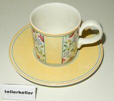 Villeroy & Boch Virginia Kaffeetasse + Untertasse Ø 7,2 / H 7 / UT Ø 15,3 Tasse