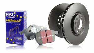 EBC Vorne Bremse Set Ultimax Bremsbeläge & Standard Scheiben - Pdkf038